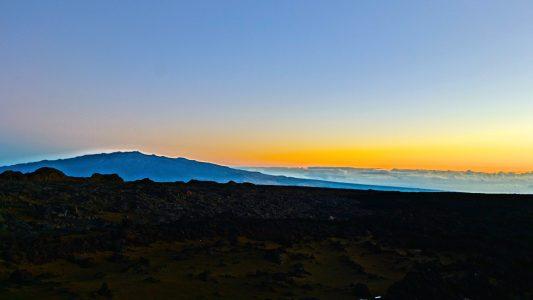 Sunrise at Mauna Loa