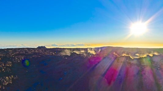 Steam Vents at Mauna Loa
